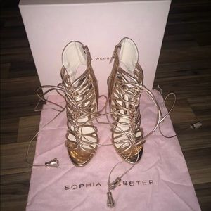 NIB Sophia Webster Lacey heel size 36